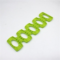 Eco-friendly Foldable Silicone Beer Can Space Saver Holder  Wine Bottle Mat