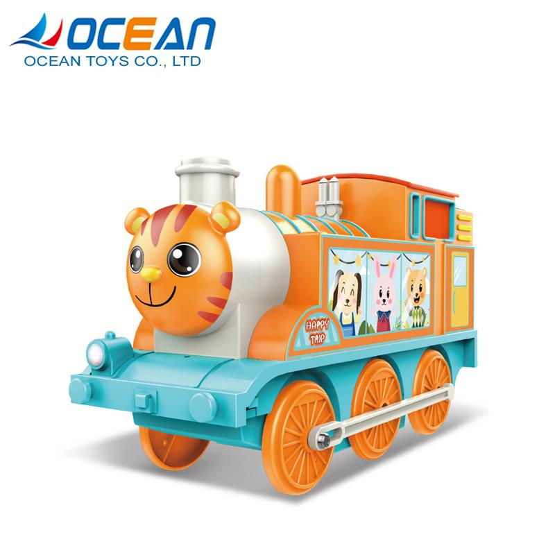 Train toy musical light electric battery ride on car for kids 1