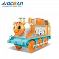 Train toy musical light electric battery