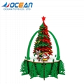 Christmas tree decoration educational game 105pcs 3d wooden puzzle