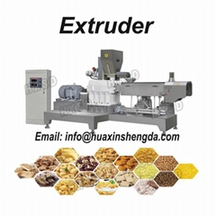 Hot sale 2021 Puffed food Snack Extruder