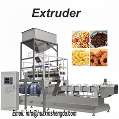 Snack Food Extruder with Conditioner