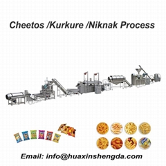 2021 Hot sale kurkure /Cheetos production line