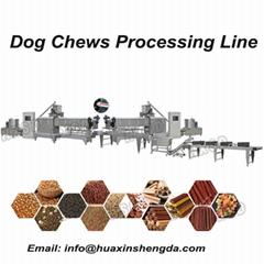 Pet treats, Chews production line