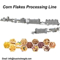 2021 Breakfast Cereal Corn Oat Flakes Processing Line