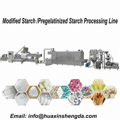 Automatic Modified Starch / Pregelatinized Starch Processing Lin Processing Line
