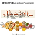 Extrusion Baked Puffed Snacks Processing Line