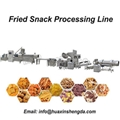 Corn Fried Bugle Snack Production Line