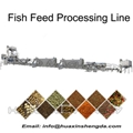 Fish Feed Floating Sinking Processing Line