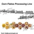 Crispy Corn Flakes Making Machine Processing Line