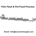 Big Capacity Animal Pet Fish Feed Pellet Extruder