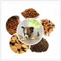 Dry Wet Pet Food Pellet Processing Making Extruder Machine