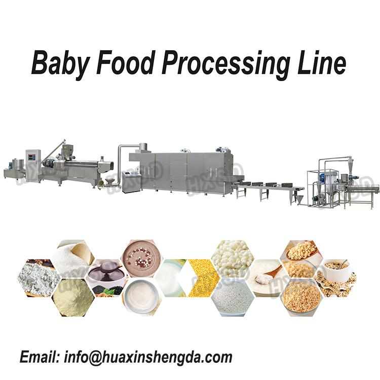 baby food making line production equipment