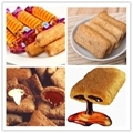 Automatic Chocolate Core Filled Puff Snack Food Extruder Machine