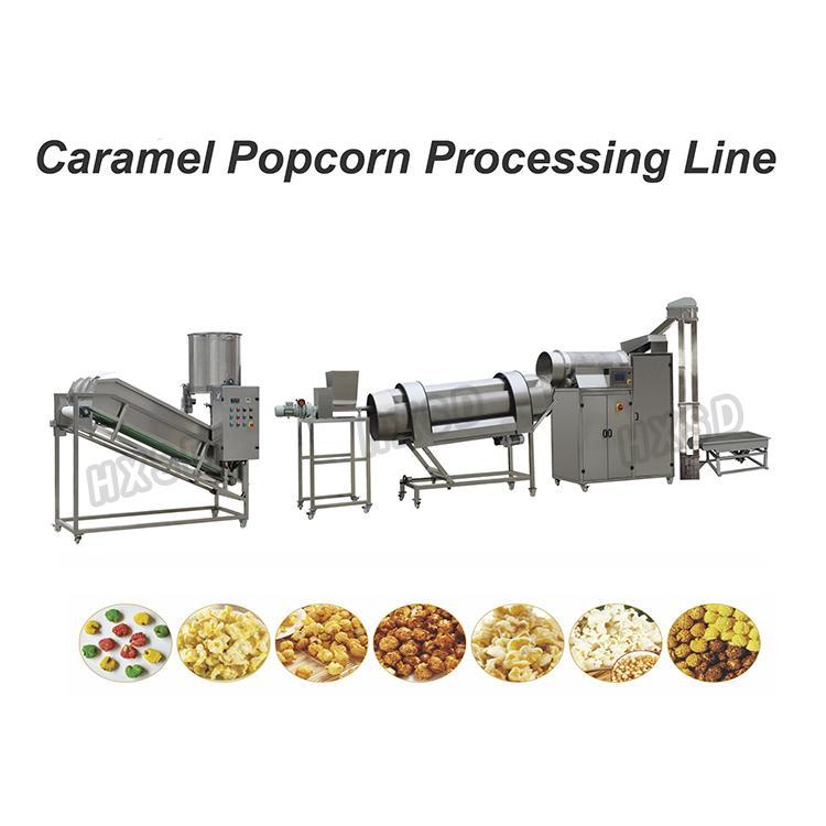 Caramel Popcorn production line