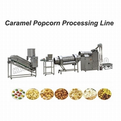 Caramel Popcorn production line