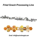 Automatic Fried Corn Flour 3D Bugles Snack Machine Pellet Snacks Food Making Mac