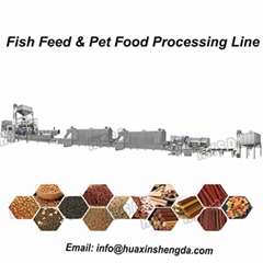 Floating Fish Feed Pellet Animal Pet Extrusion Dry Dog Food Machine (Hot Product - 1*)