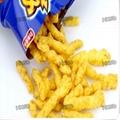 Baked Fried Type Cheetos Kurkures Nik Nakes Corn Curls Processing Line