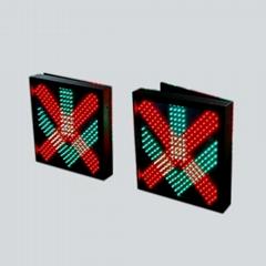 深圳立达采用台湾晶元芯片LED通行灯 红叉绿箭车道指示器