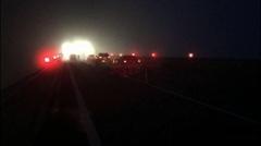 深圳立達高速公路智能霧燈 邊緣誘導標 霧區誘導防撞系統