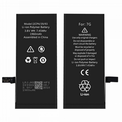 iPhone 7Plus Mobile Phone Battery 7P Cell Phone Replacement Battery