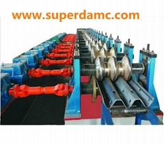 Highway 3 wave guardrail roll forming machine