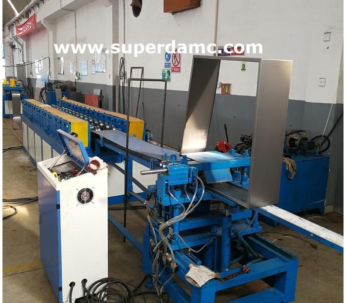 Electrical cabinet enclosure production line 1