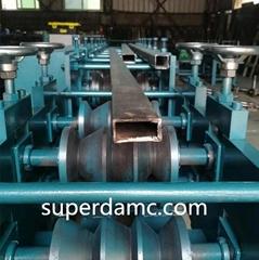 Metal Rectangular Pipe Roll Forming Machine