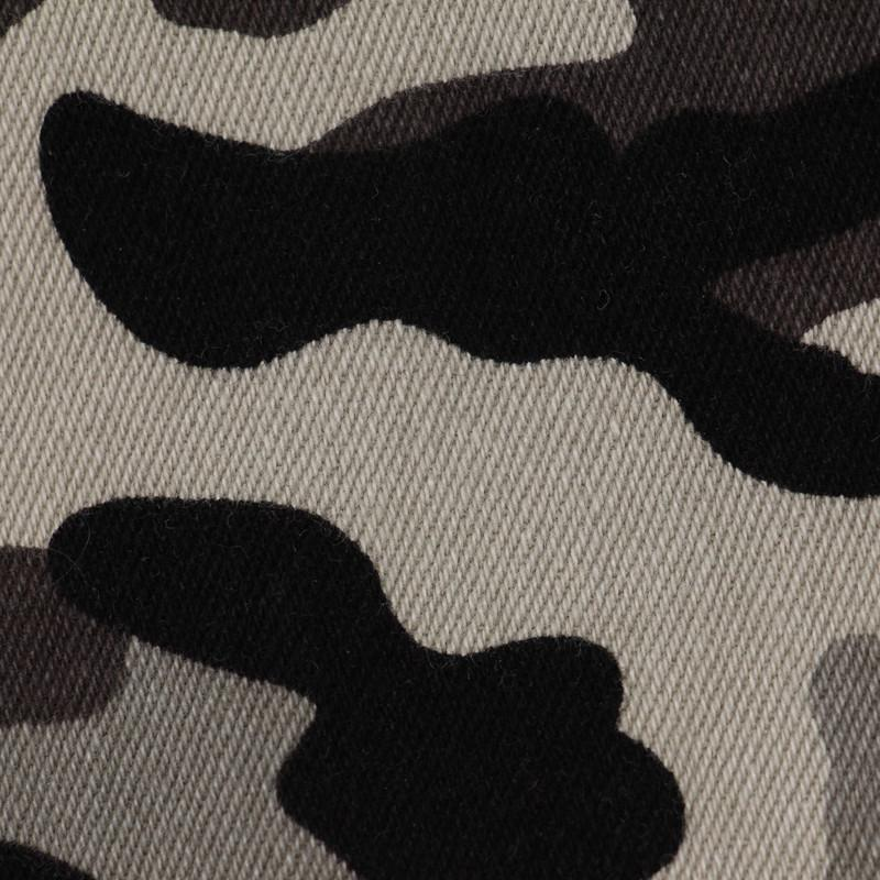 Camo Print Denim Twill  Stripe Twill Fabric  Denim Fabric 2
