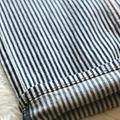 Light Weight Cotton Spandex Stripe Twill