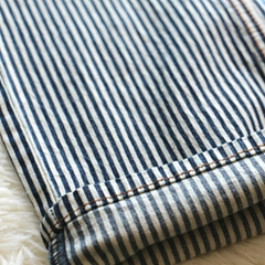Light Weight Cotton Spandex Stripe Twill