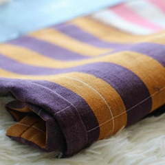 Colored Plaid Twill Fabric