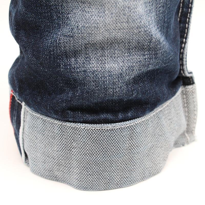 Broken Twill Denim Fabric  100% Cotton Selvedge Denim company 1