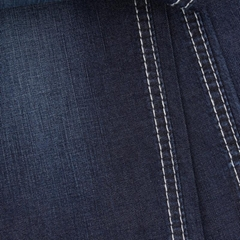 Tencel linen T400 denim fabric  custom textile manufacturer