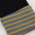 Rainbow stretch denim fabric  custom