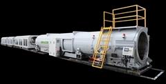 HDPE630-1200給水管擠出生產線