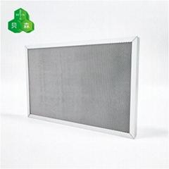 苏州贝森铝蜂窝芯光氧催化UV光解过滤网