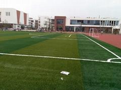 湖南长沙人造草坪足球场材料含施工