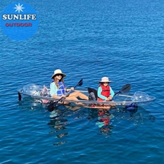 Best Seller CE Certificate Approved kayak transparent and clear boat