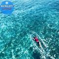 100% Virgin Imported made Clear plastic kayak transparent wholesale 5