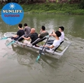 SUNLIFE Best Seller Transparent clear boat with 6 seats