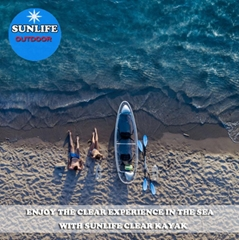 hot sales stable glass bottom boats and glass bottom kayak rental business