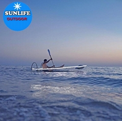 SUNLIFE stable kayak transparente and clear kayak stabilizer for 2 person