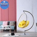 Egg Hanging Bubble Chair With Stand