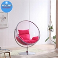 Globe Hanging Bubble Chair With Stand