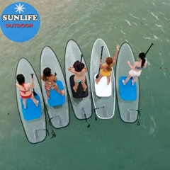 Transparent SUP paddle board clear SUP paddle board clear SUP board transparent (Hot Product - 1*)