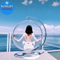 Bubble Chair | Sitting in a space chair, dreaming of a horse