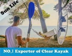 Clear Kayak Transparent Kayak Seethrough Canooe Glass Bottom Boat
