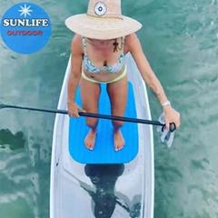 全透明SUP滑板水上運動水晶衝浪板